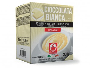Dolci for the system Cioccolate Caffè Bonini Ciobon Bianca 30gr