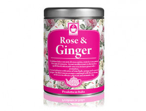The and Tisane  for the system The and herbal teas  Caffè Bonini Rose & Ginger
