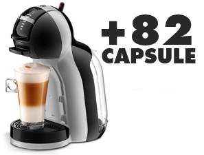 Coffee machines DéLonghi Mini Me Dolce Gusto + 82 Capsules