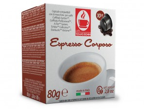 Compatible Coffee Capsules for the system Caffitaly Professional Caffè Bonini Corposo