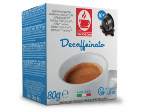 Compatible Coffee Capsules for the system Verismo by Starbucks Caffè Bonini Decaffeinated