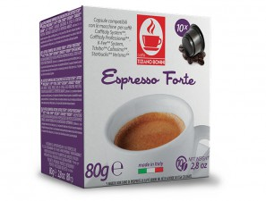 Compatible Coffee Capsules for the system Cafissimo  Caffè Bonini Forte
