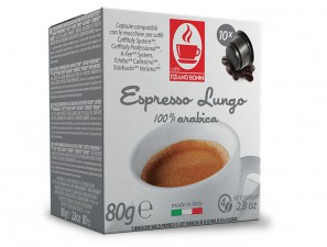 Compatible Coffee Capsules for the system Verismo by Starbucks Caffè Bonini Lungo