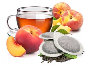 Teas and Infusions Compatible Pods for the system ESE 44mm Caffè Bonini Peach