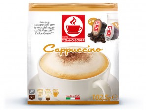 Capsule Compatible Drinks for the system Dolce Gusto Caffè Bonini Cappuccino