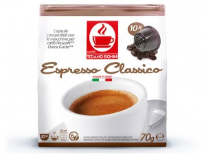 Compatible Coffee Capsules for the system Dolce Gusto Caffè Bonini Classico