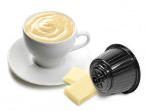 Capsule Compatible Drinks for the system Dolce Gusto Caffè Bonini Cioccolato Bianco