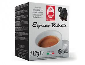 Compatible Coffee Capsules for the system Dolce Gusto Caffè Bonini Ristretto