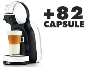 Coffee machines Krups Mini Me Dolce Gusto + 82 Capsule + Kit Cortesia