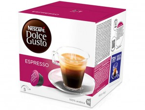 Original Coffee Capsules for the system Dolce Gusto Nescafè Espresso