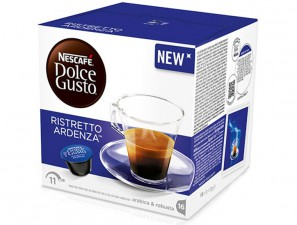Original Coffee Capsules for the system Dolce Gusto Nescafè Ristretto Ardenza
