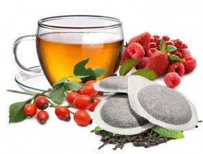 Teas and Infusions Compatible Pods for the system ESE 44mm Caffè Bonini Goji And Fruits