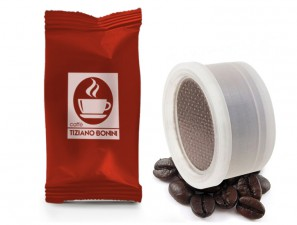 Compatible Coffee Capsules for the system Espresso Cap Termozeta Caffè Bonini Intenso