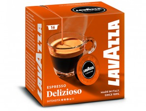 Original Coffee Capsules for the system Lavazza a Modo Mio Lavazza Deliziosamente