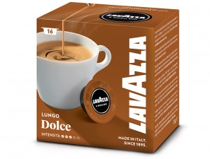 Original Coffee Capsules for the system Lavazza a Modo Mio Lavazza Crema lungo dolcemente
