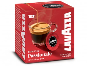 Original Coffee Capsules Passionately Lavazza a Modo Mio