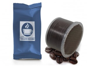 Compatible Coffee Capsules for the system Lavazza Double Dose Caffè Bonini Decaffeinated