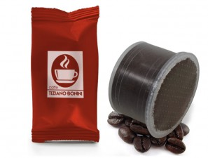 Compatible Coffee Capsules for the system Lavazza Double Dose Caffè Bonini Intenso