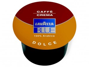 Original Coffee Capsules for the system Lavazza Blue Lavazza Crema Dolce