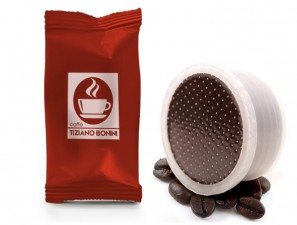 Compatible Coffee Capsules for the system Lavazza Espresso Point Caffè Bonini Intenso