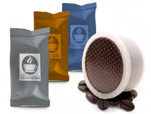 Compatible Coffee Capsules for the system Lavazza Espresso Point Caffè Bonini Kit Assaggio