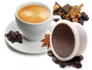 Flavored Coffee Capsules Compatible for the system Lavazza Espresso Point Caffè Bonini Kit Assaggio Aromatizzati