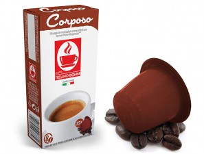 Compatible Coffee Capsules for the system Nespresso Caffè Bonini Corposo