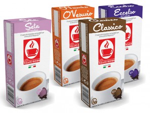 Compatible Coffee Capsules for the system Nespresso Caffè Bonini Kit Assaggio Misto Da Aromi Classici