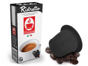 Compatible Coffee Capsules for the system Nespresso Caffè Bonini Ristretto Compatibile
