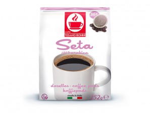 Compatible coffee pods for the system Senseo  Caffè Bonini Silk