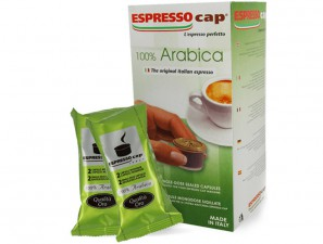 Original Coffee Capsules for the system Espresso Cap Termozeta Termozeta 100% Arabica